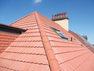 after installing new ridge tiles
