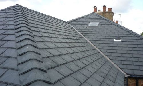 new slate roof in St Anns