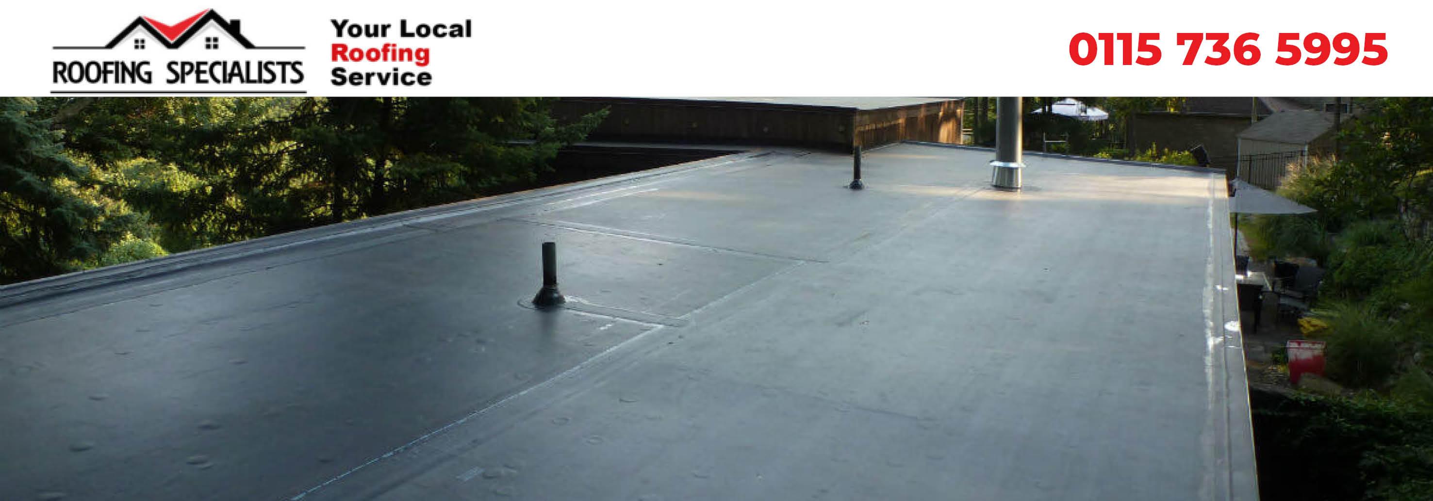 nottingham flat roofing experts header image