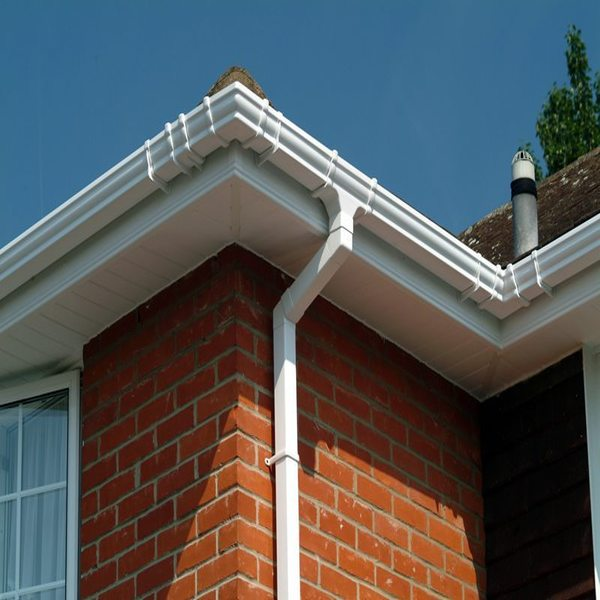Standard Hill new upvc gutter soffits and fascia