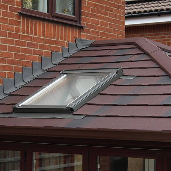 skylight in tiled roof replaced